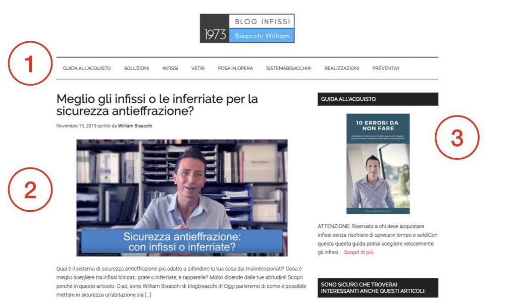 blogbisacchi.it sito web