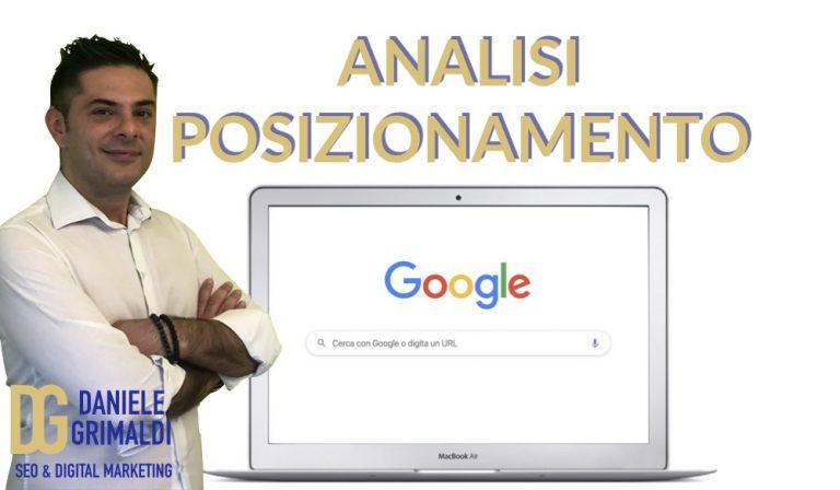 analisi posizionamento sito web competitor come fare