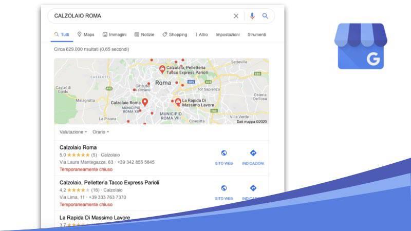 Aumenta la visibilità del tuo sito con la local SEO di Google My Business
