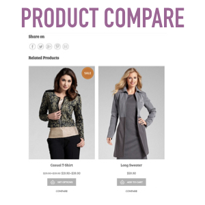 product compare woocommerce