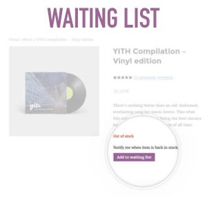 waiting list plugin per woocommerce
