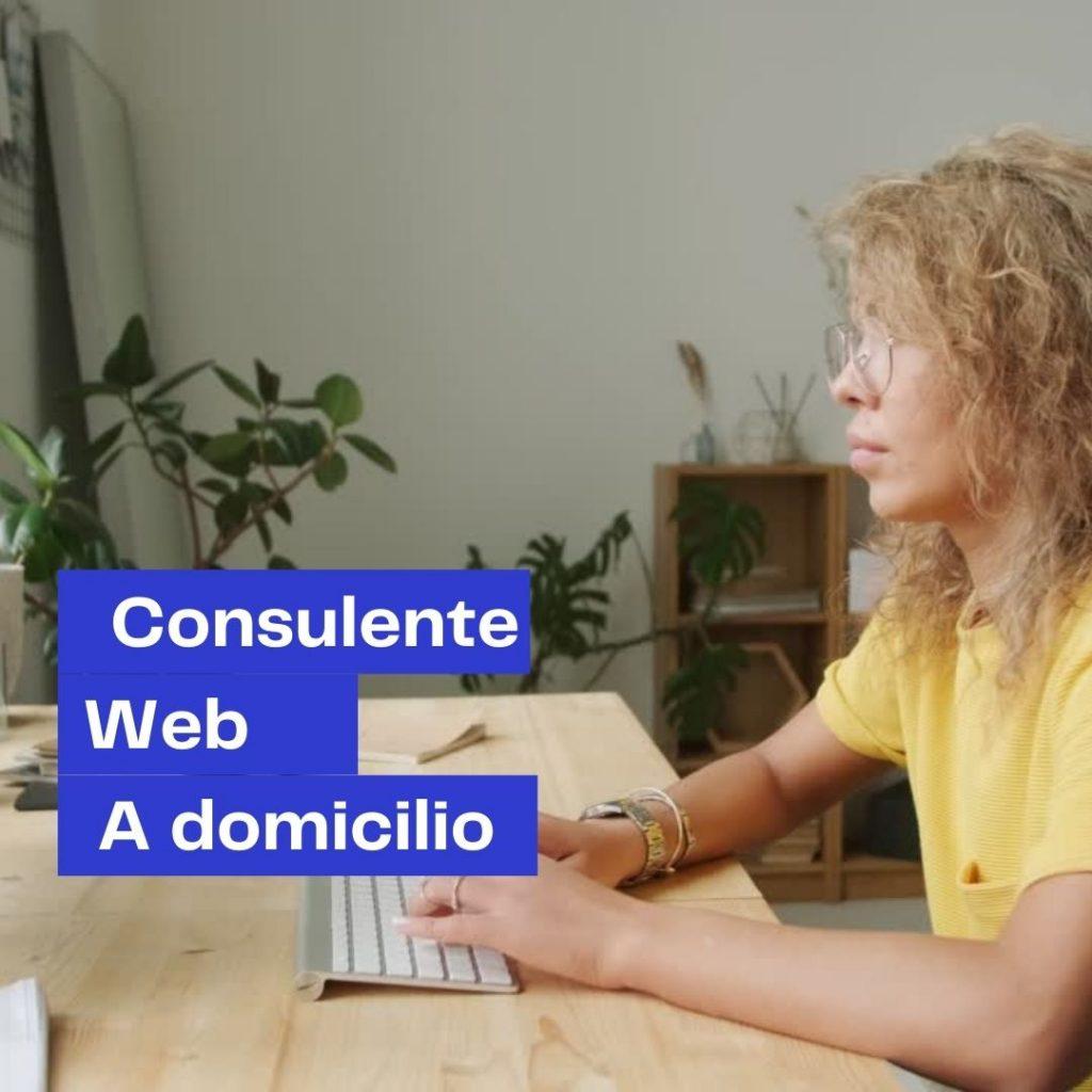 consulente web a domicilio