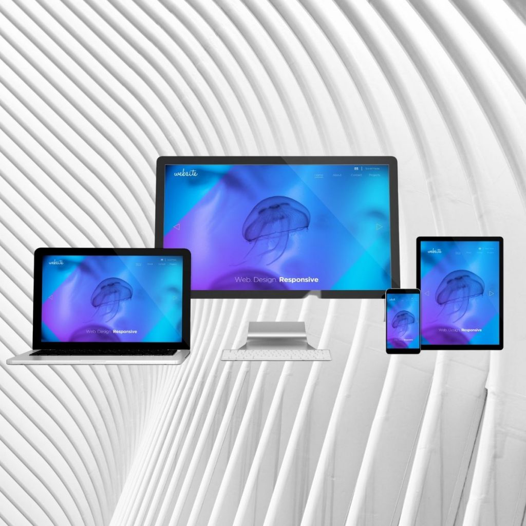 sito web responsive visibile sia da computer che da mobile