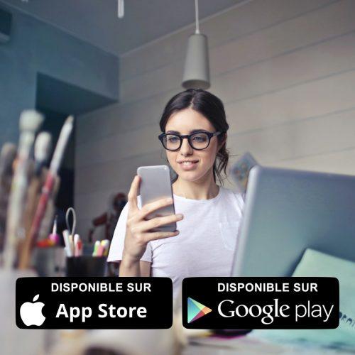 area clienti dedicata visibile da computer o da smartphone con app in omaggio